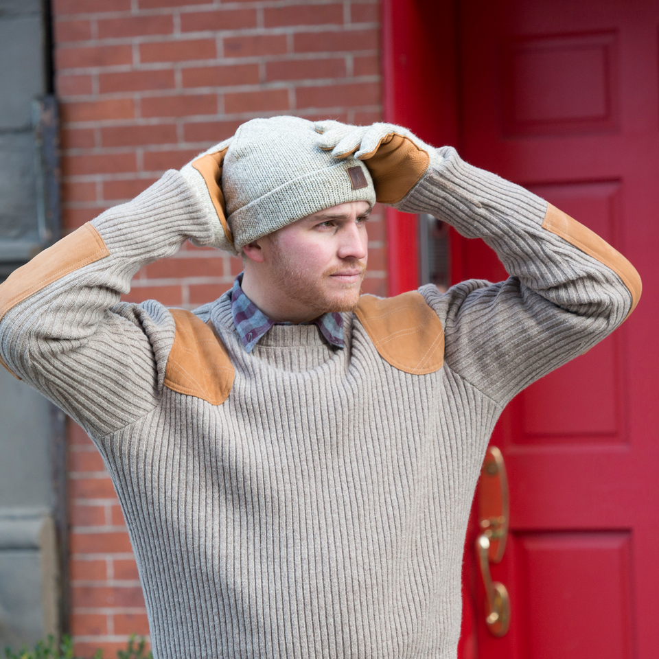 Commando Sweater - Wheat - Ball and Buck