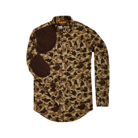 The Premium Hunters Shirt, Original Camo/ Quilted Duck