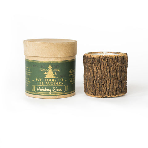 We Took to the Woods - Whiskey River Bark Candle