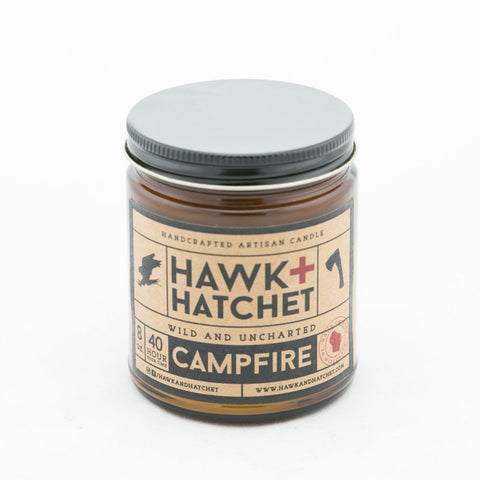 Hawk + Hatchet - Campfire Candle - featured image