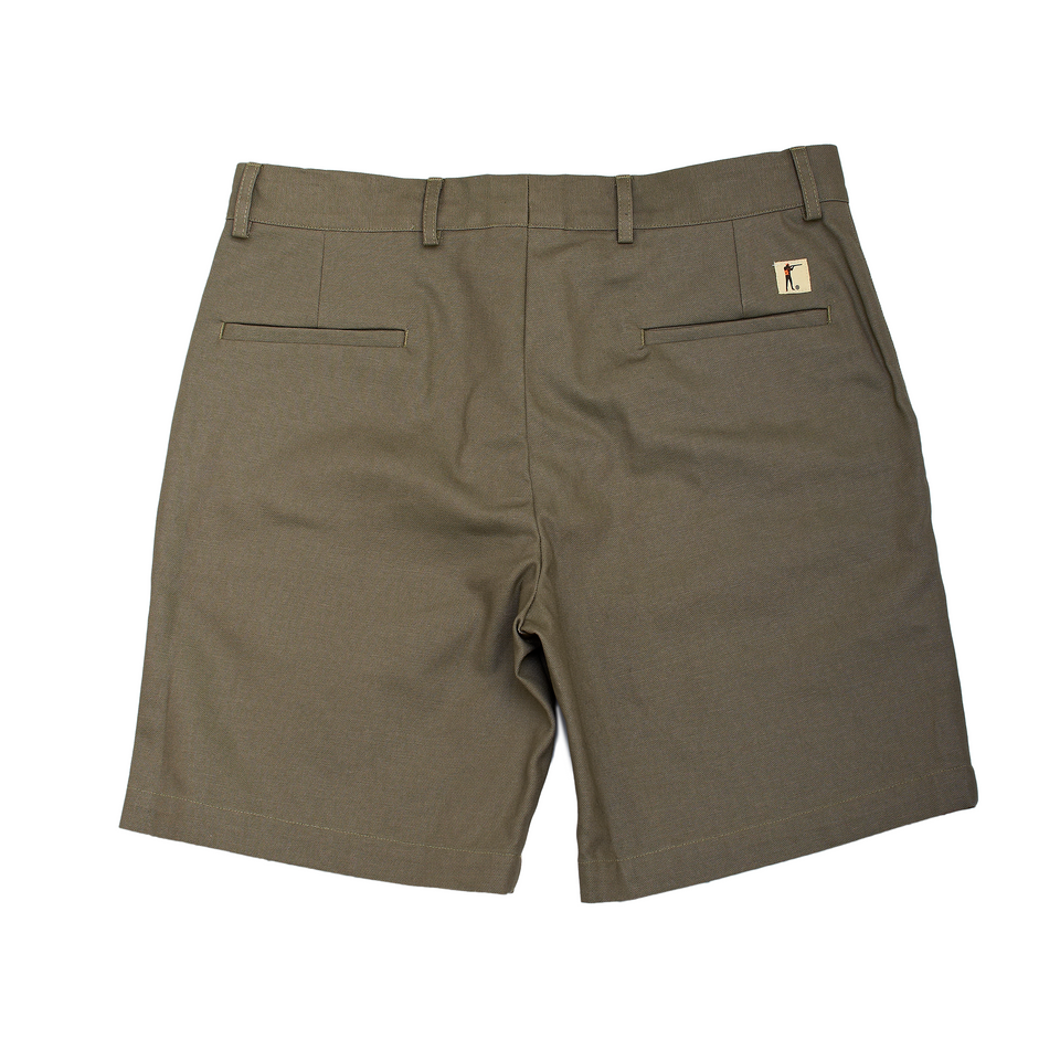 6 Point Duck Cotton Short - Desert