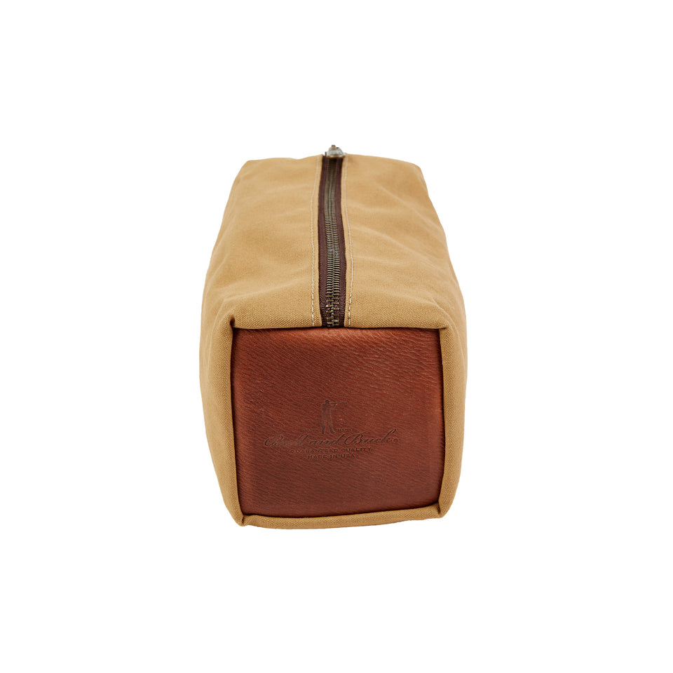 Dopp Kit - Signature Canvas/Signature Leather - Ball and Buck