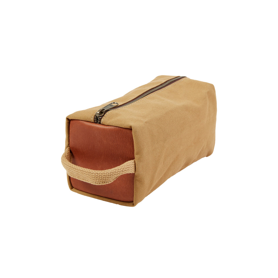 Dopp Kit - Signature Canvas/Signature Leather