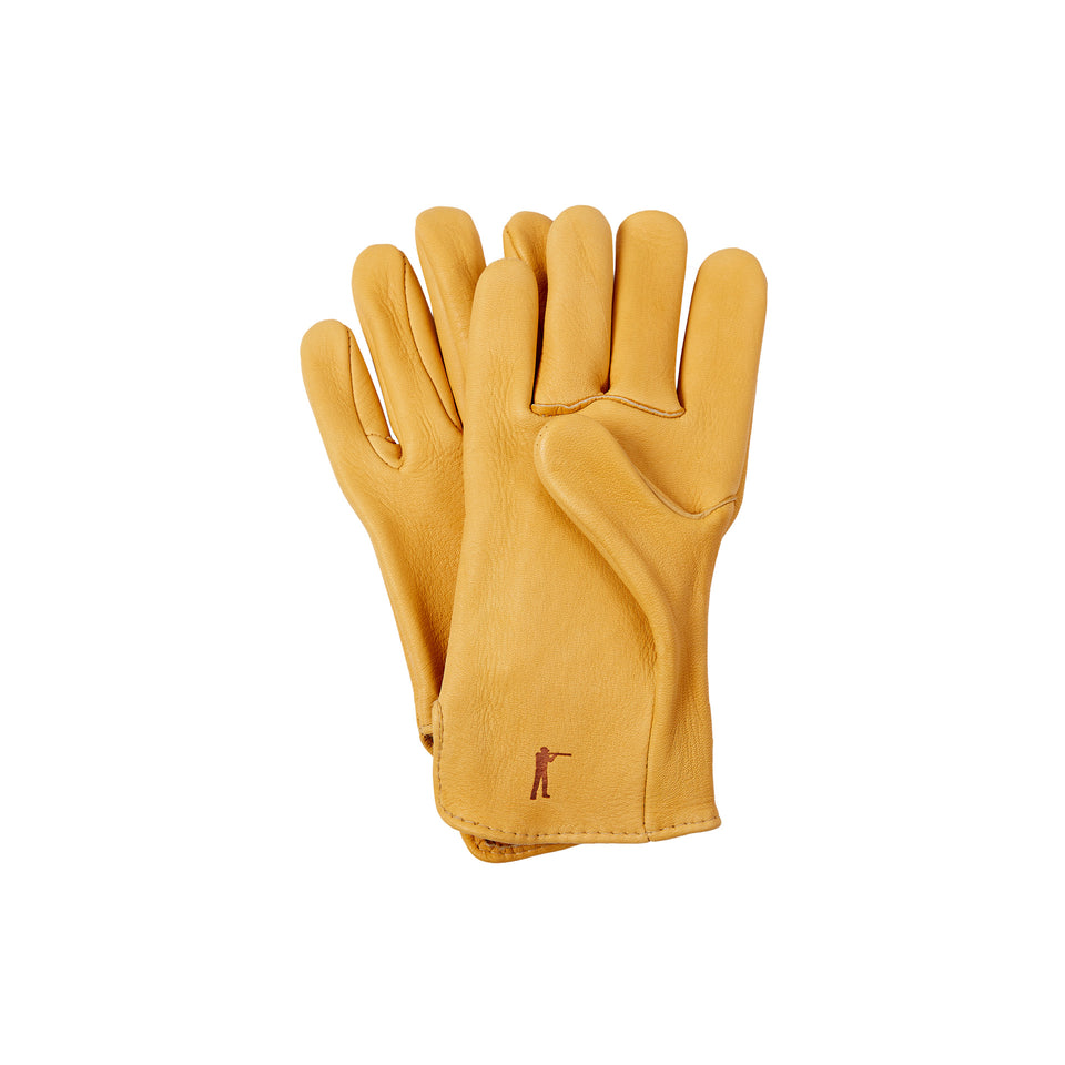 Elkskin Leather Gloves Unlined - Ball and Buck