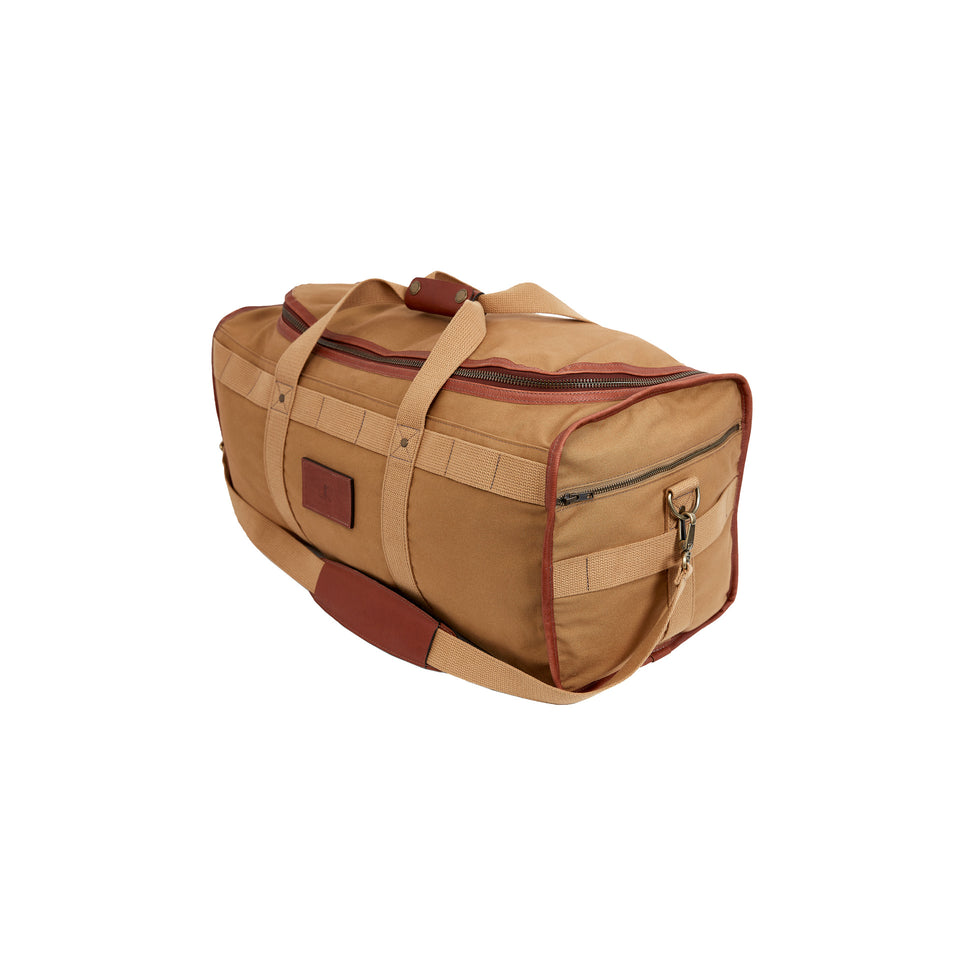95fea4c4fde3 Expedition Duffel Bag - Signature Leather/Signature Duck – Ball and Buck