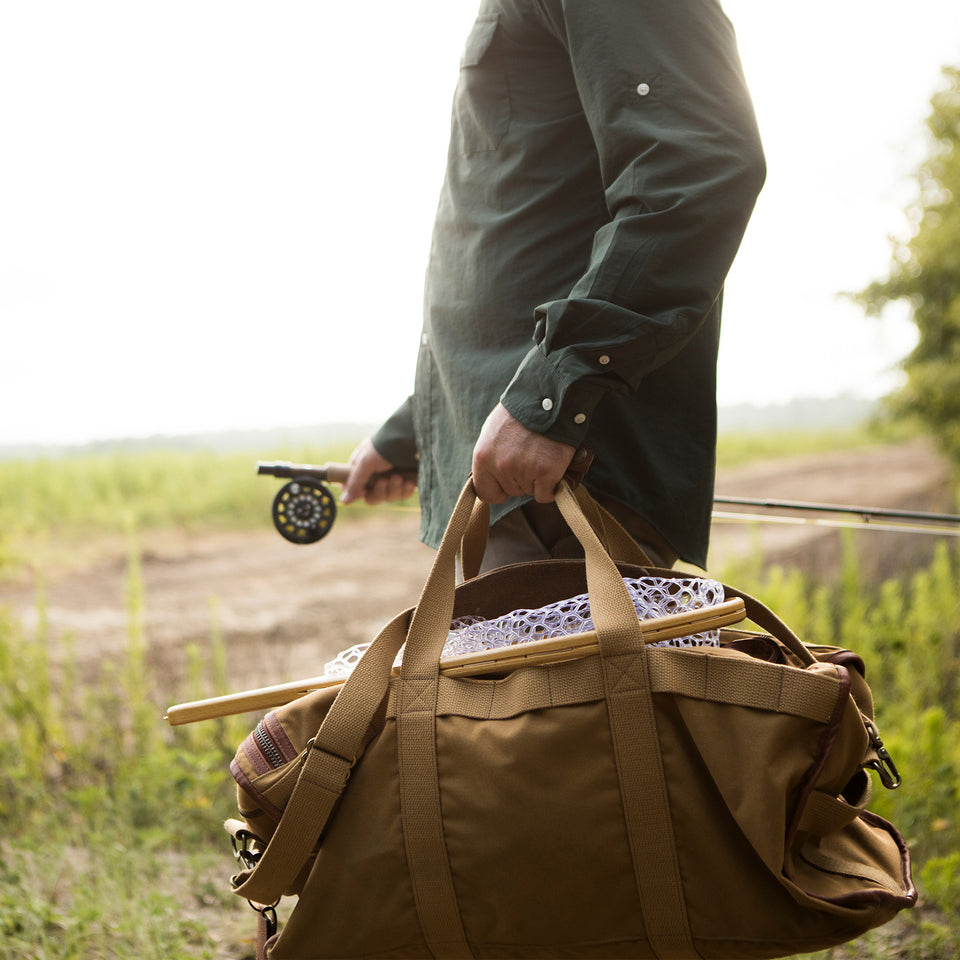 Expedition Duffel Bag - Signature Leather/Signature Duck