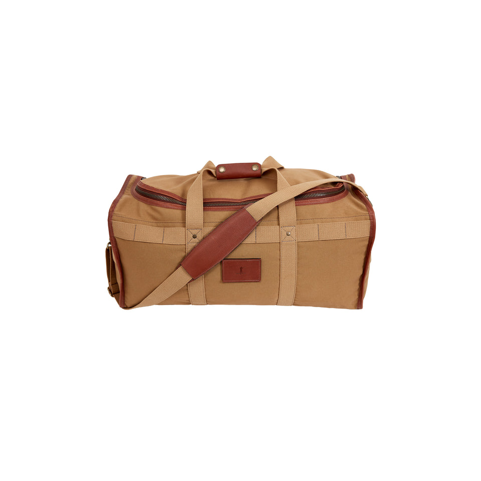 Expedition Duffel Bag - Signature Leather/Signature Duck - Ball and Buck