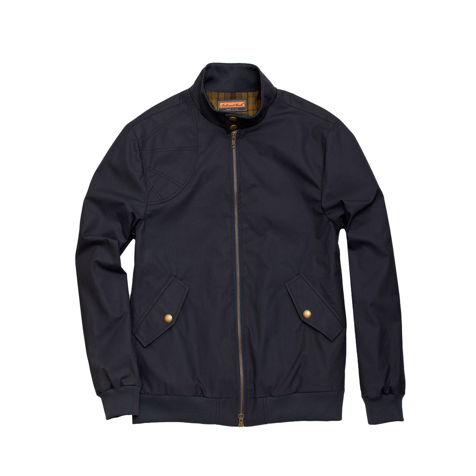 Harrington Jacket - Navy - Ball and Buck