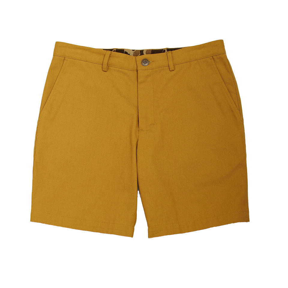 6 Point Duck Cotton Short - Honey