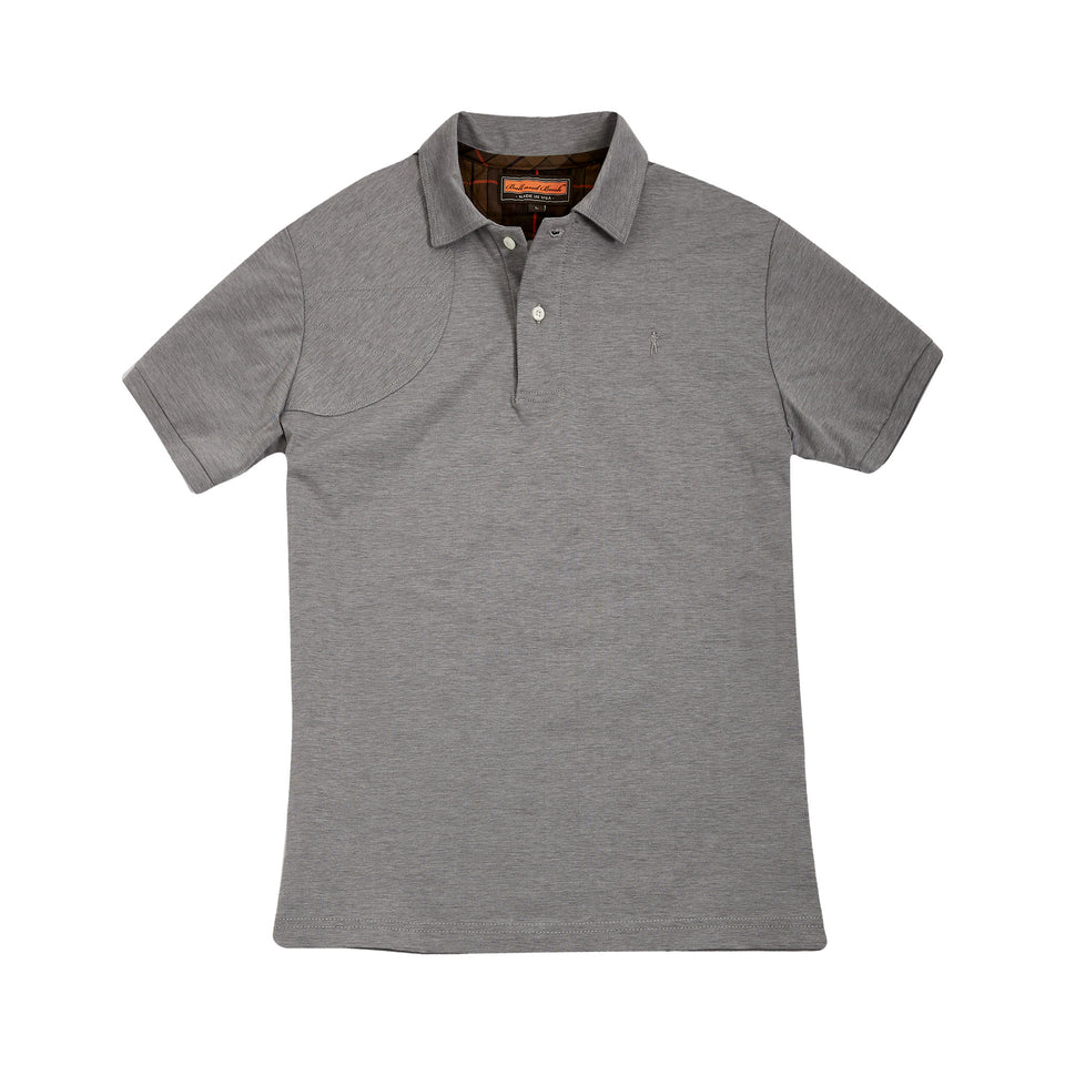Hunters Polo + Grey - Ball and Buck