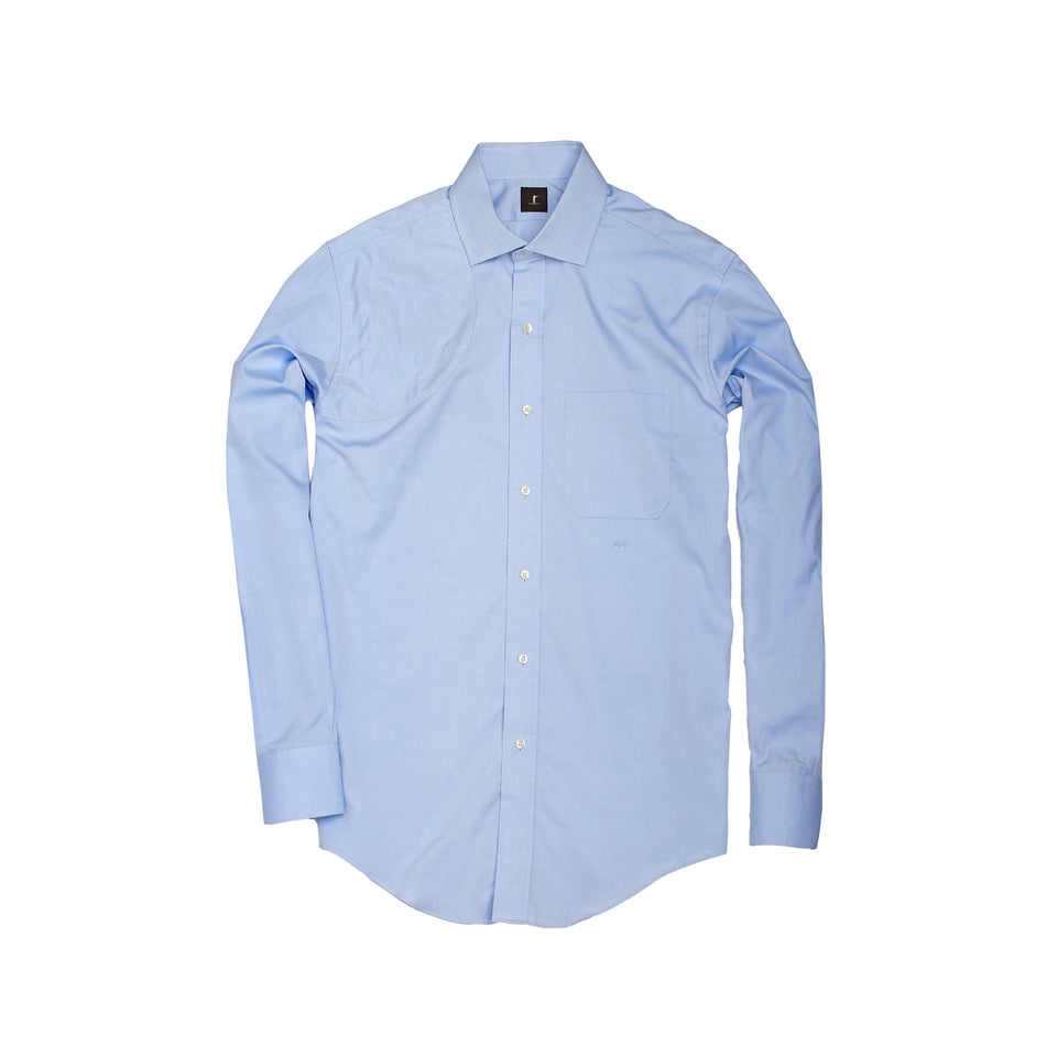 Hunters Dress Shirt - Blue - Ball and Buck
