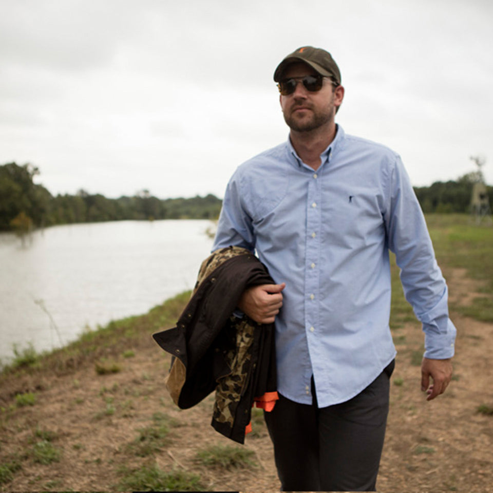 Hunters Shirt - Blue - Ball and Buck
