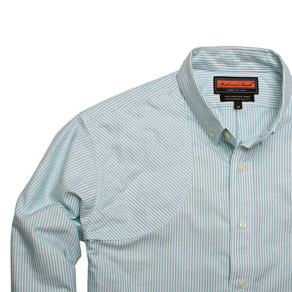 Hunters Shirt - Teal Stripe