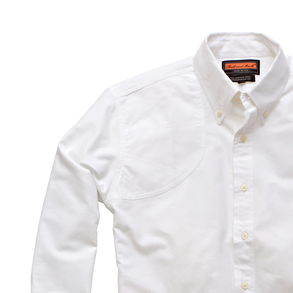 Hunters Shirt 1.0 - White - Ball and Buck