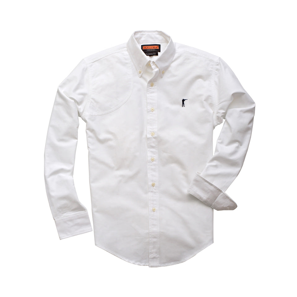 Hunters Shirt - White - Ball and Buck