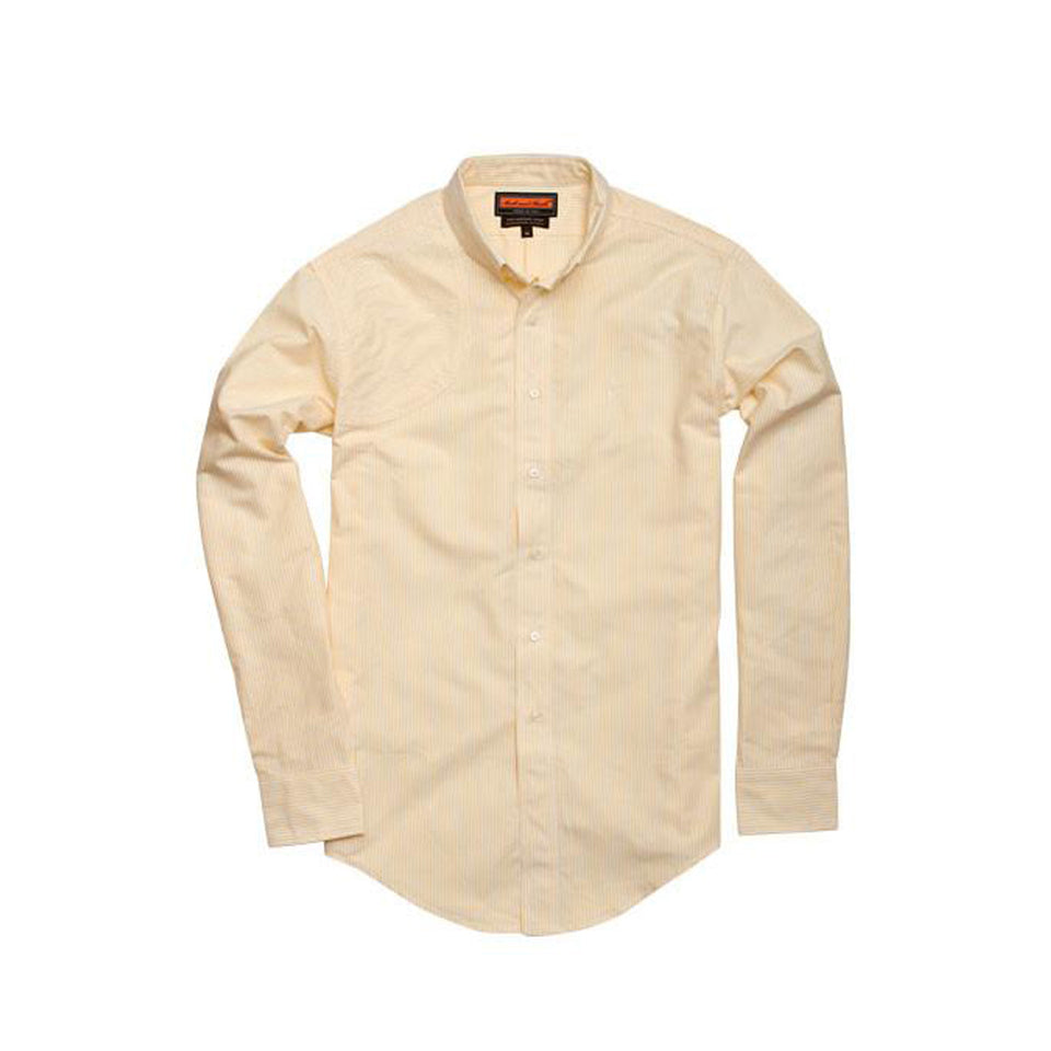 Hunters Shirt - Yellow Stripe