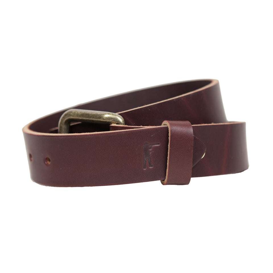 Last Belt You'll Ever Buy -  Latigo - Ball and Buck