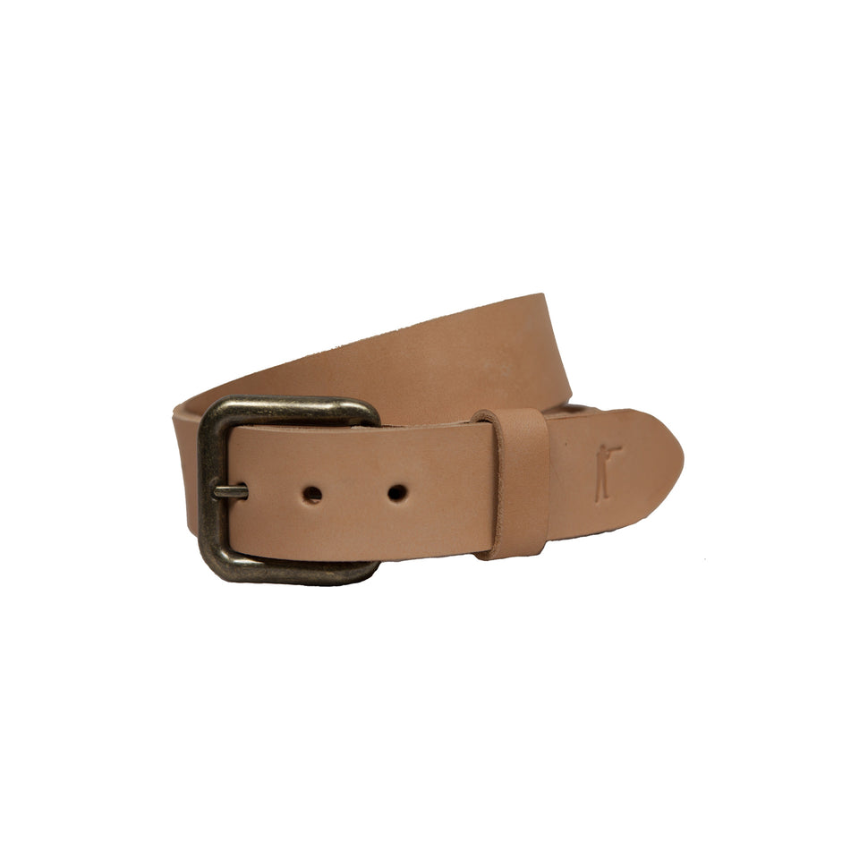 Last Belt You'll Ever Buy - Natural - Ball and Buck