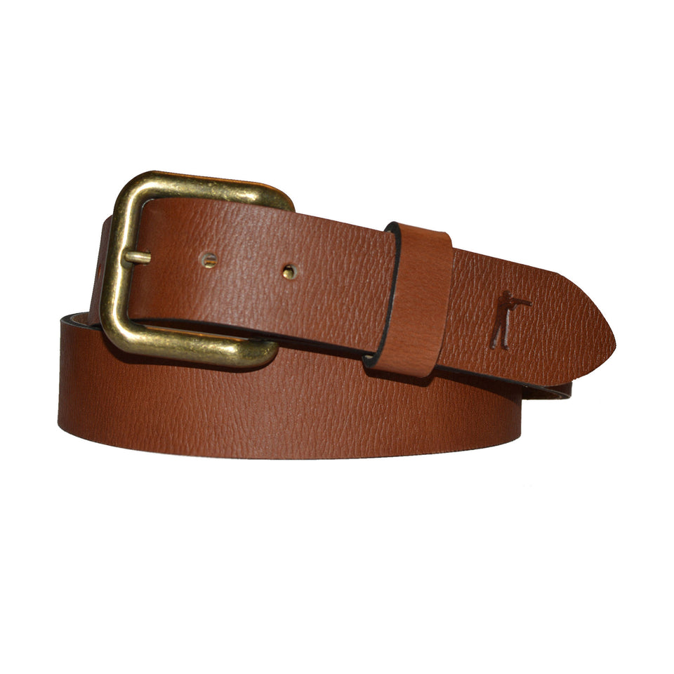Last Belt You'll Ever Buy - Signature Leather - Ball and Buck