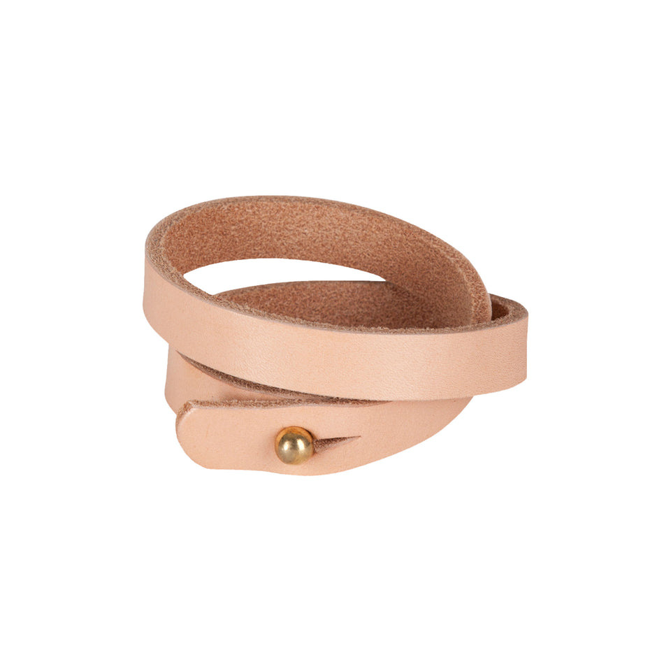 Leather Bracelet - Ball and Buck