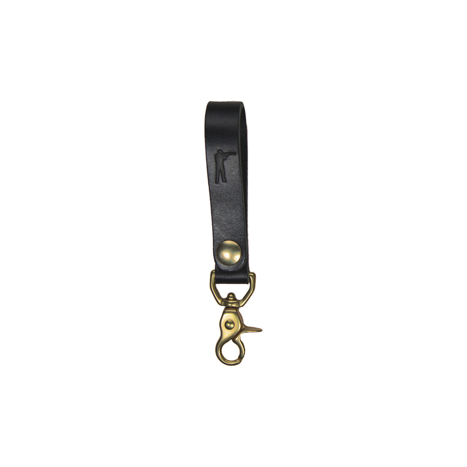Perfect Keychain - Lobster Hook - Black - Ball and Buck