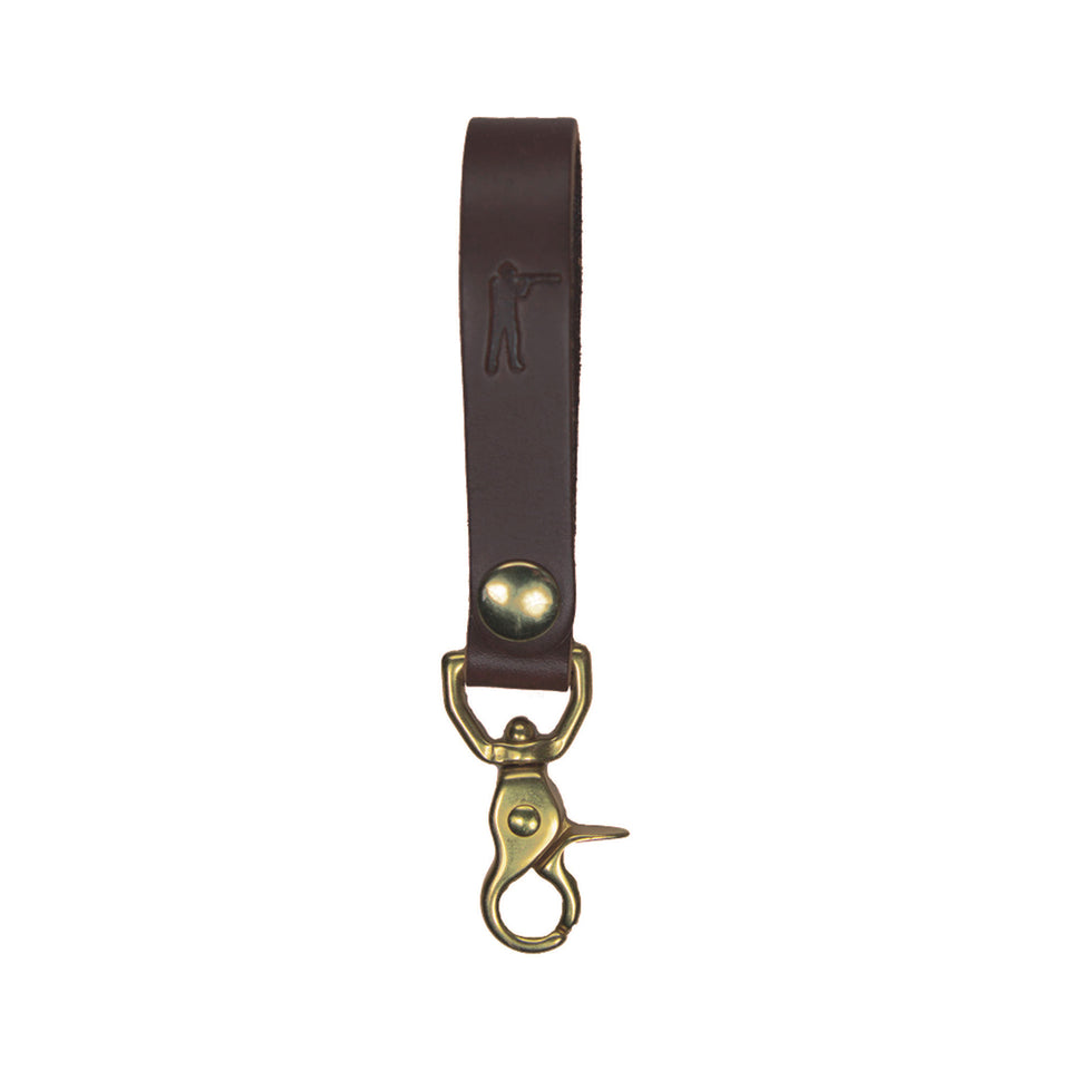 Perfect Keychain - Lobster Hook - Brown