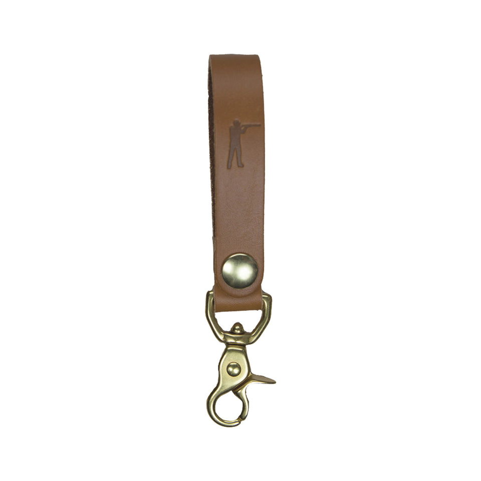 Perfect Keychain - Lobster Hook - Tan