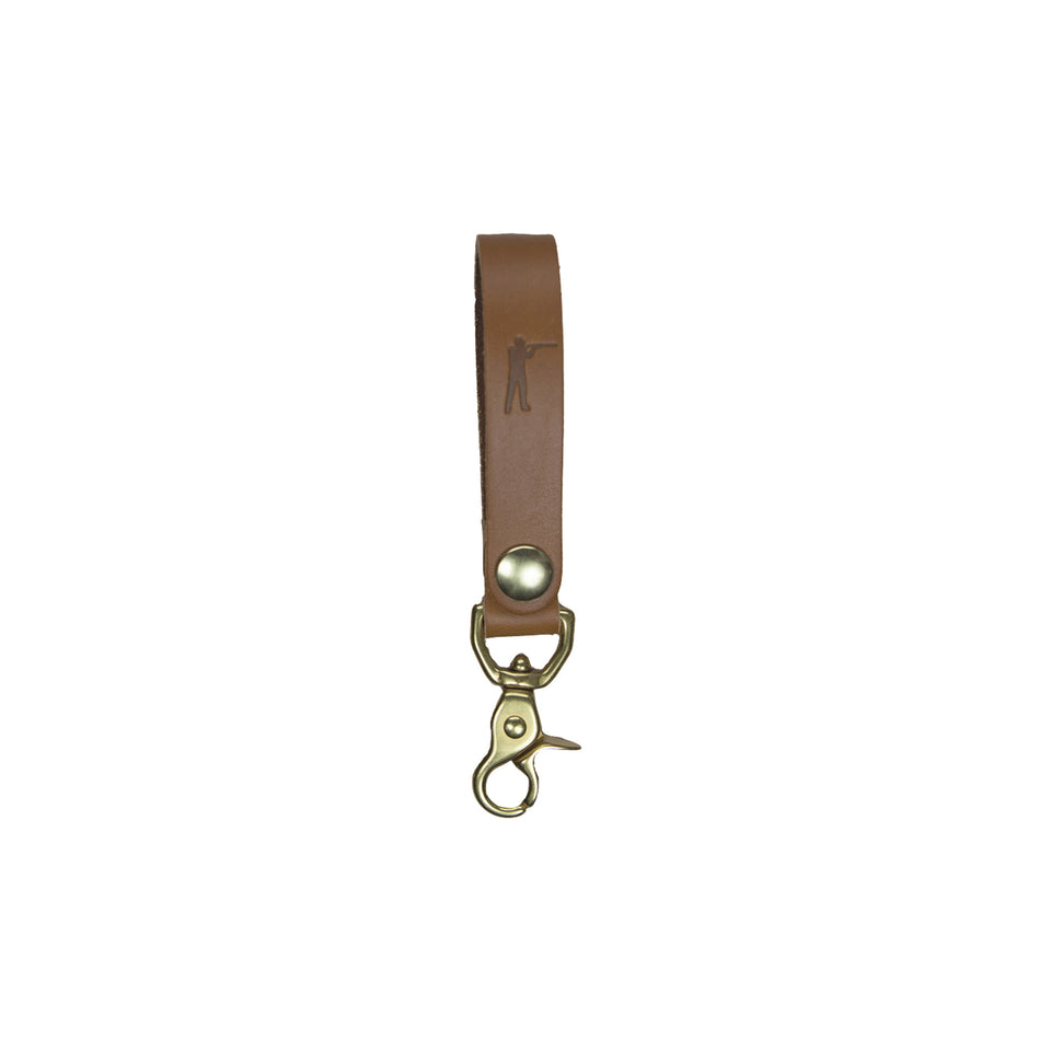 Perfect Keychain - Lobster Hook - Tan - Ball and Buck