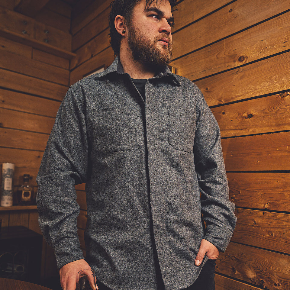 Mariners Overshirt 2.0 - Gunsmoke - Ball and Buck