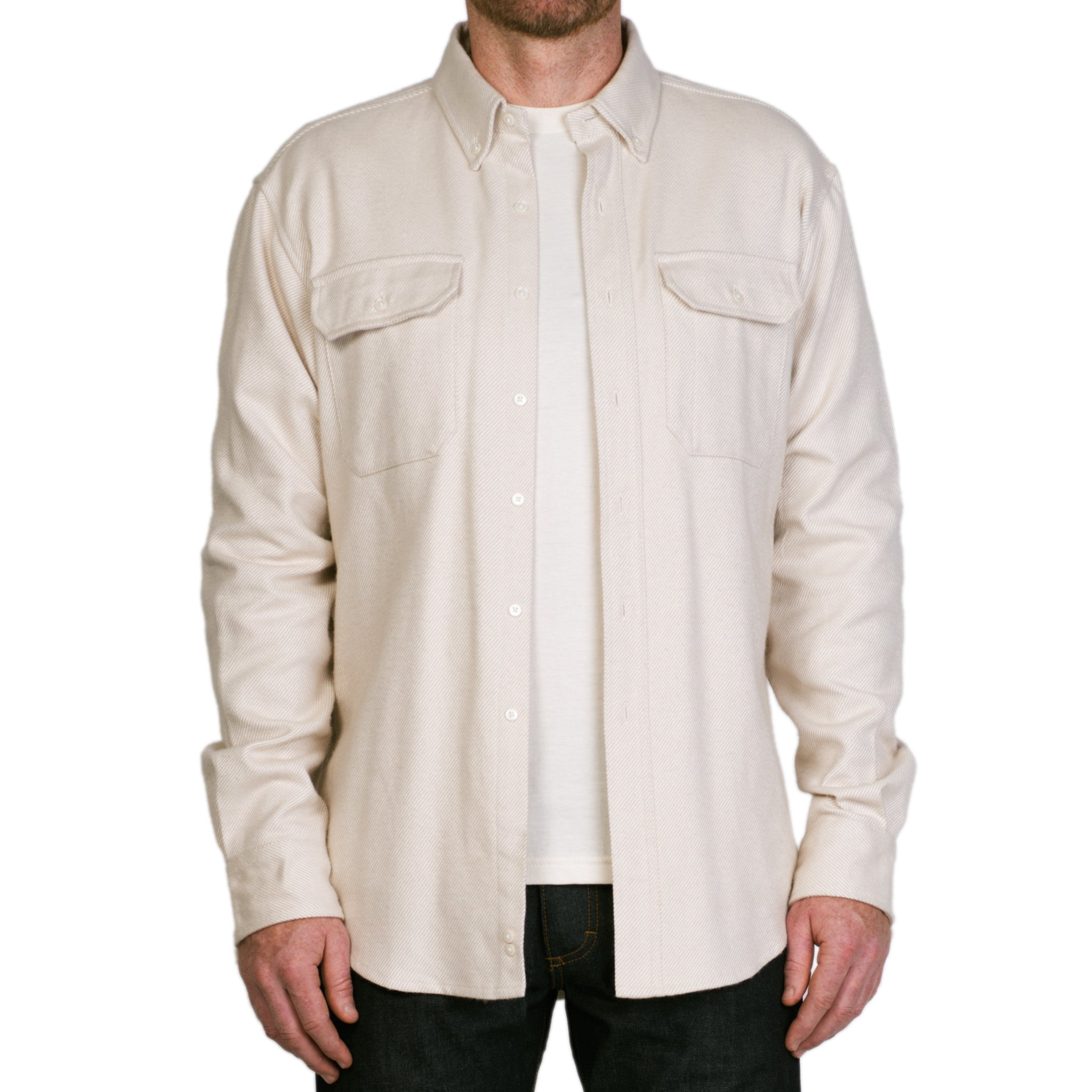 The Mariners Overshirt, Ivory