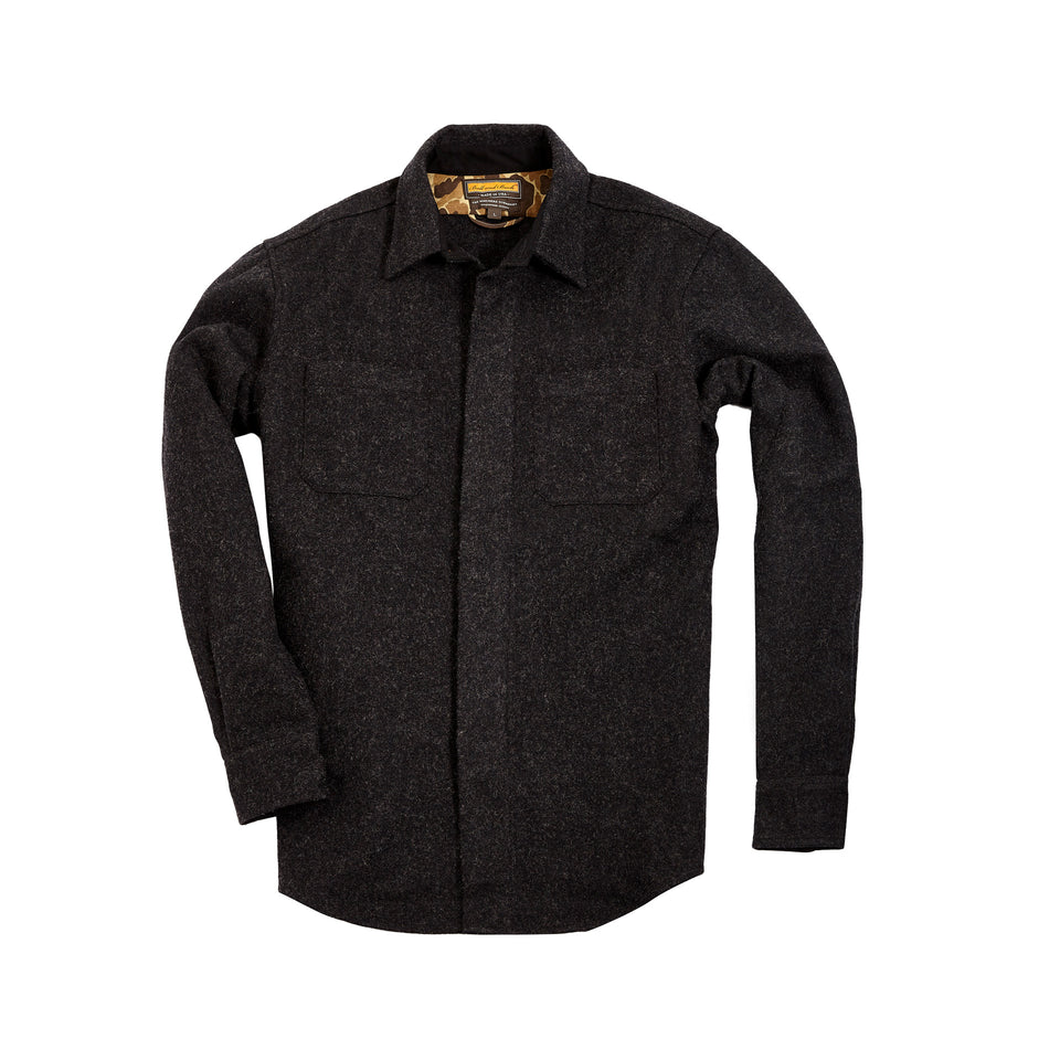 Mariners Overshirt 2.0 - Coal - Ball and Buck