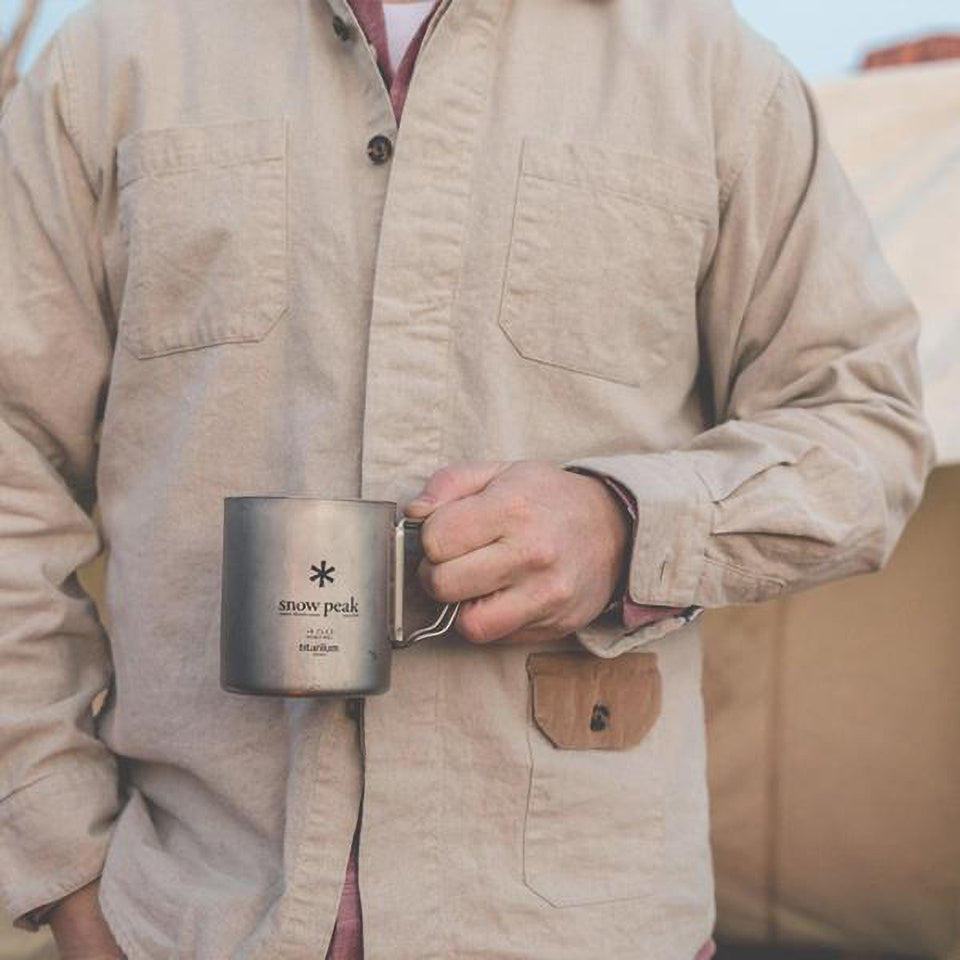 Mariners Overshirt 2.0 - Natural - Ball and Buck
