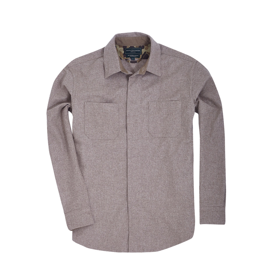 Mariners Overshirt 2.0 - Oatmeal - Ball and Buck