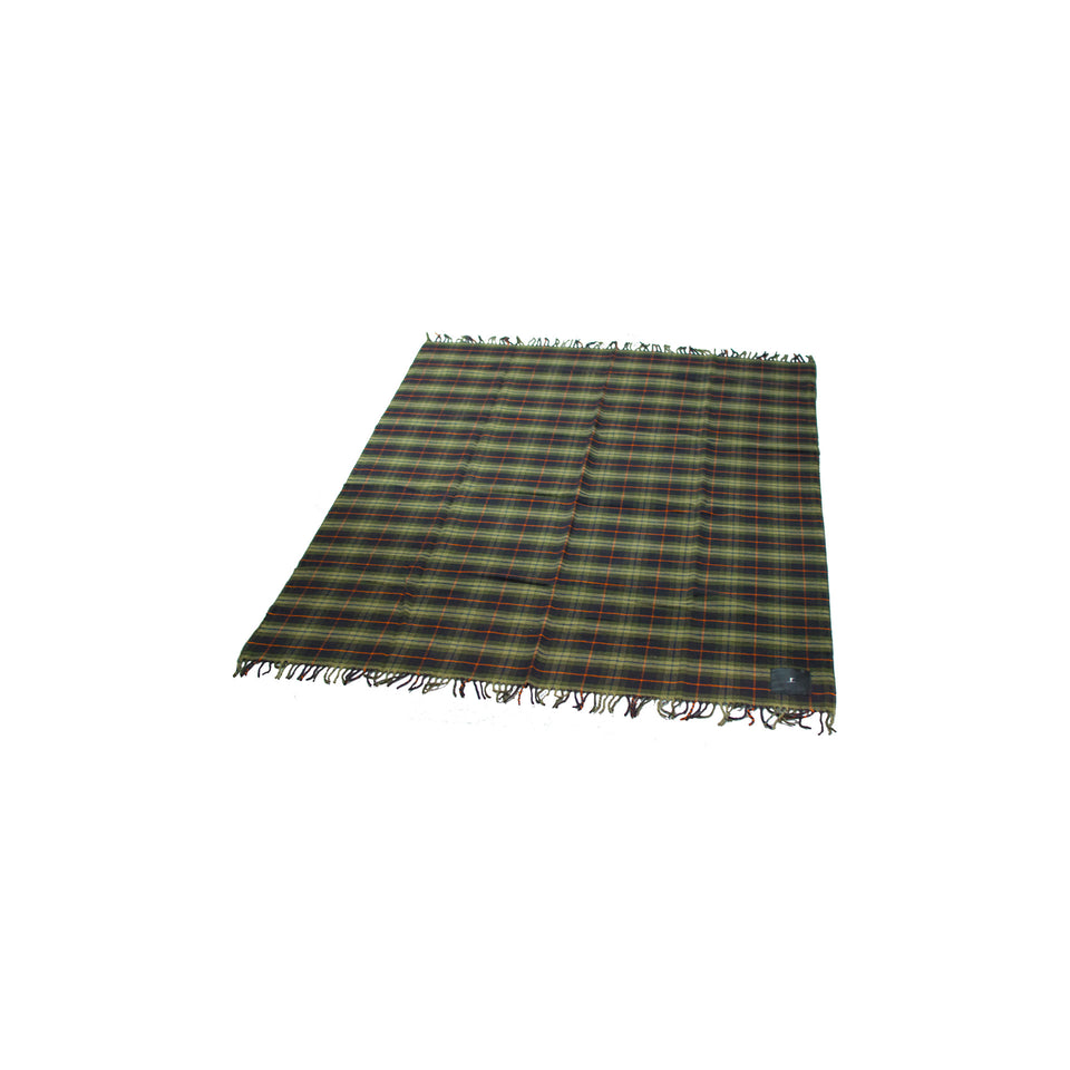Merino Wool Throw Blanket - Signature Plaid - Ball and Buck