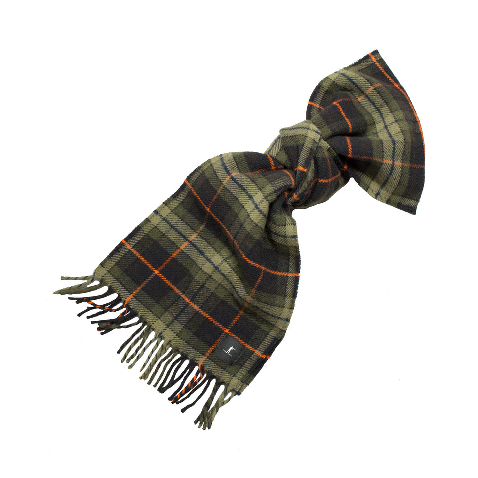 Merino Wool Scarf - Signature Plaid - Ball and Buck