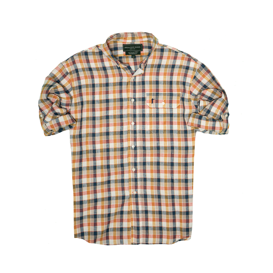 Anglers Shirt - Montana Plaid