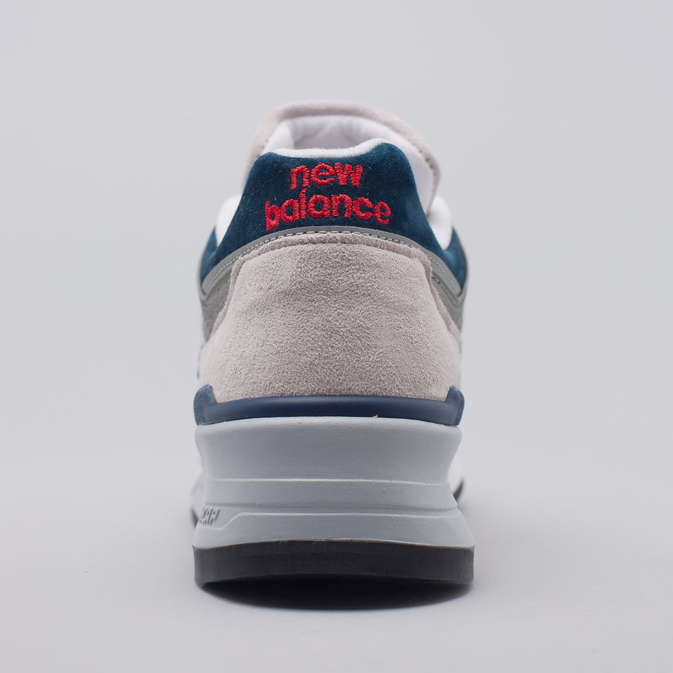 New Balance 997WEB - Grey with Navy - Ball and Buck
