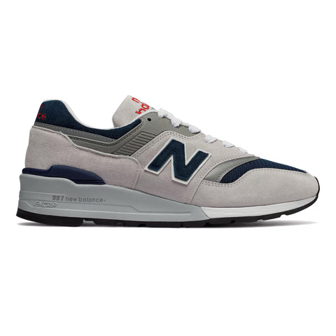 New Balance 997WEB - Grey with Navy - featured image