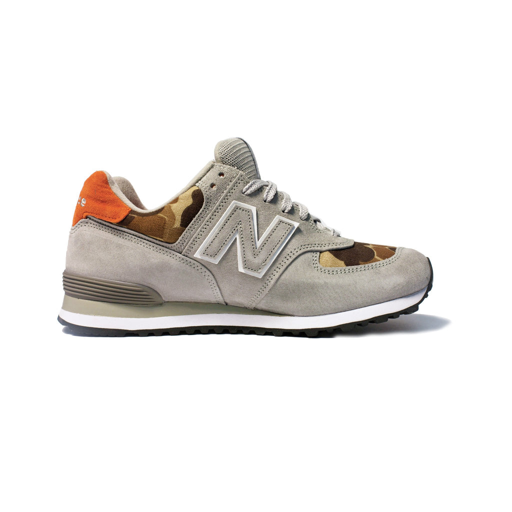New Balance X Ball and Buck US574, Kool Grey