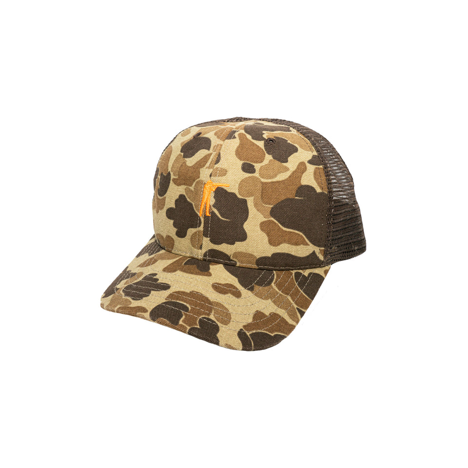 Original Camo Mesh Snapback Hat - Ball and Buck
