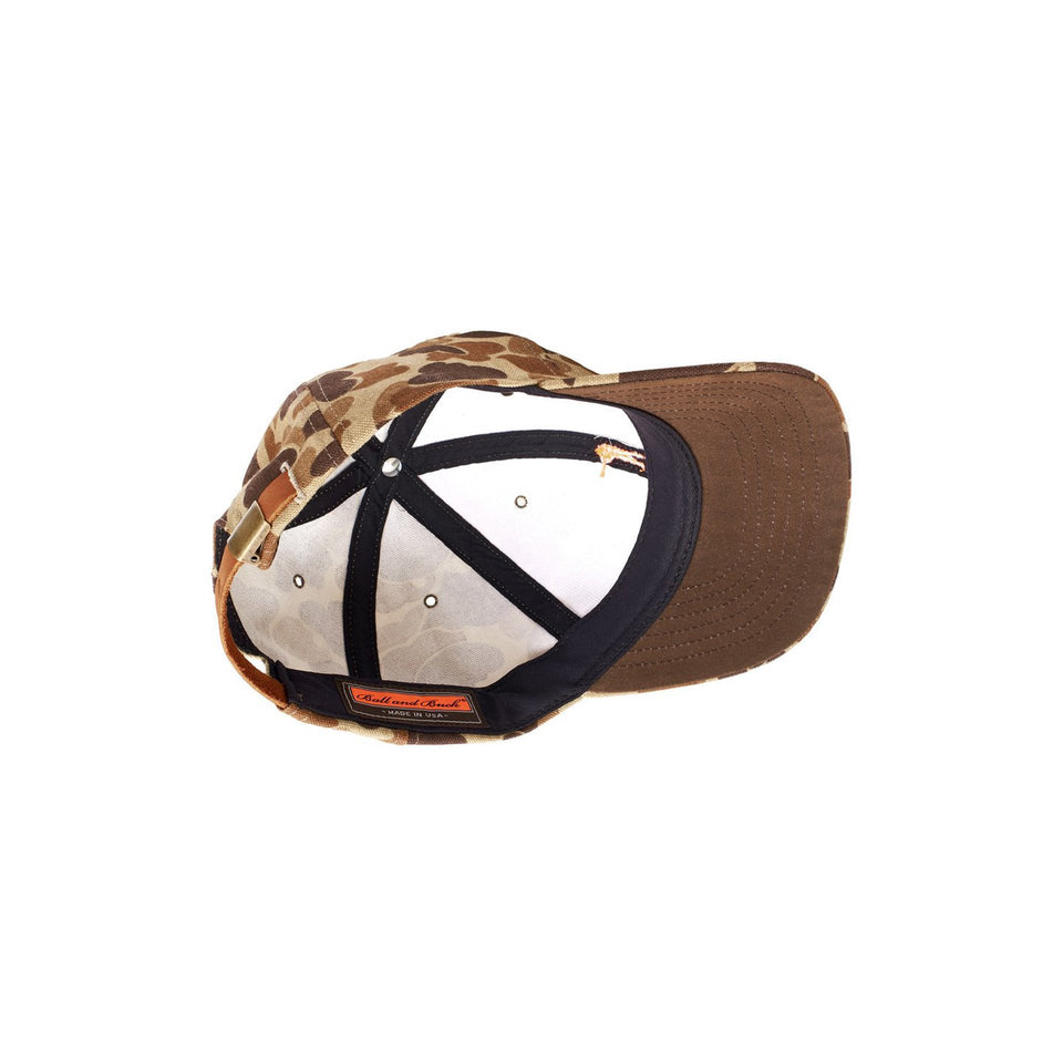 Original Camo Duck Cotton Hat - Ball and Buck