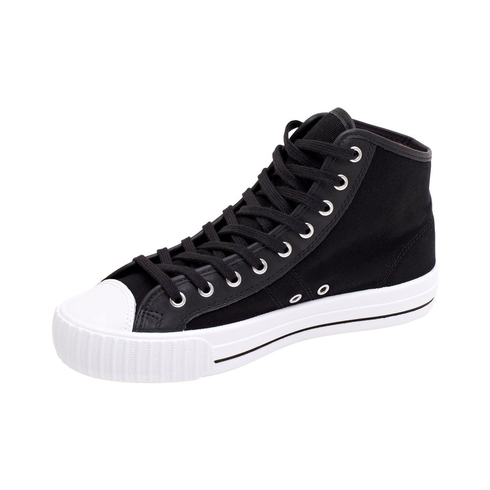 PF Flyers Center Hi - Black - Ball and Buck