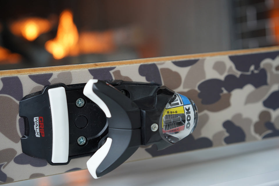 Ball and Buck x Parlor Skis (Custom) — Original Camo - Ball and Buck