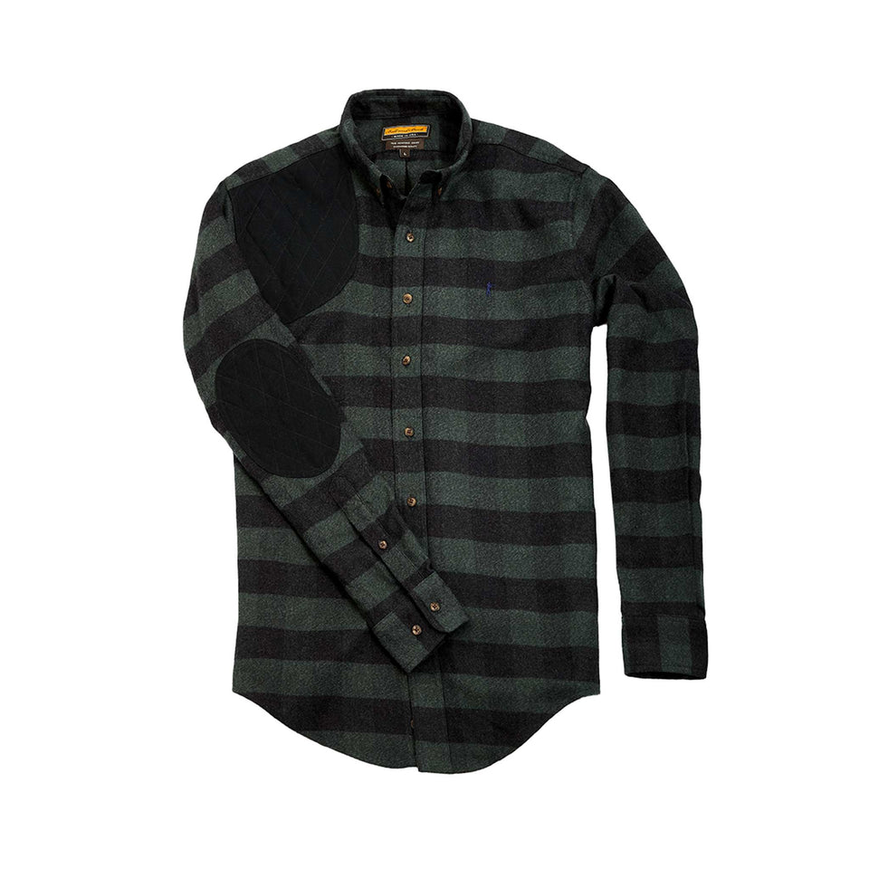 Premium Hunters Shirt - Pine/Quilted Duck