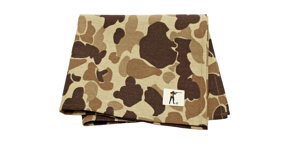 Pocket Square - Original Camo - Ball and Buck