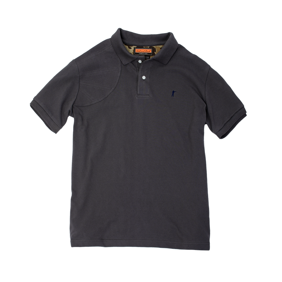 Hunters Polo - Grey - Ball and Buck