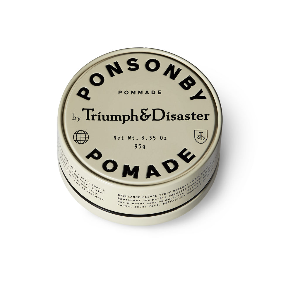 Triumph and Disaster - Ponsonby Pomade - Ball and Buck