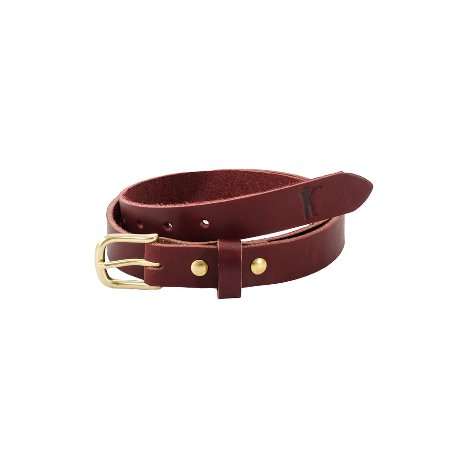"Premium Leather Belt - 1"" Latigo"