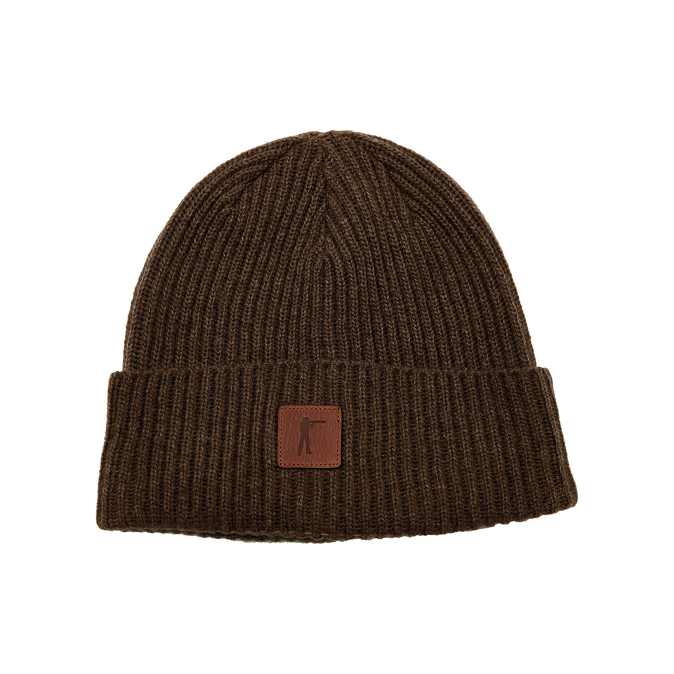 Roger Knit Hat - Bison Wool - Ball and Buck