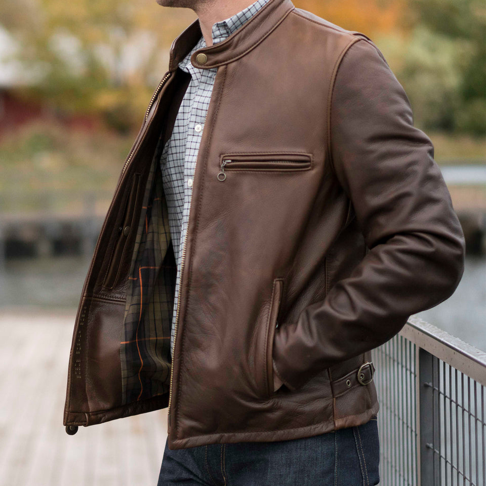 Ball and Buck Perfecto Leather Jacket - Ball and Buck